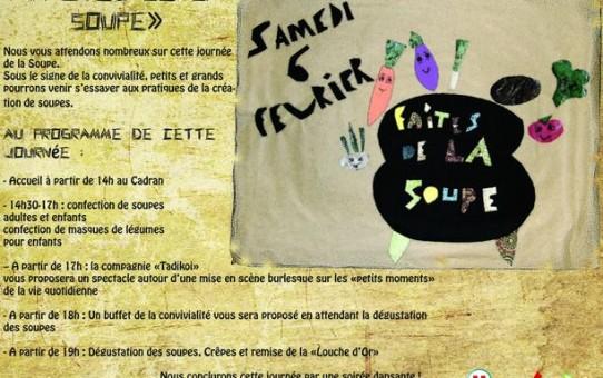06 fév. 2016 : Faites des soupes