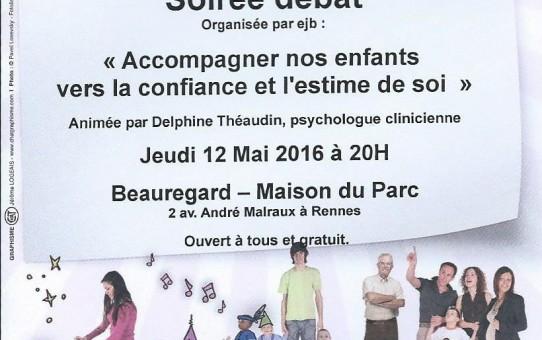 12 mai 2016 : Conférence sur la Parentalité
