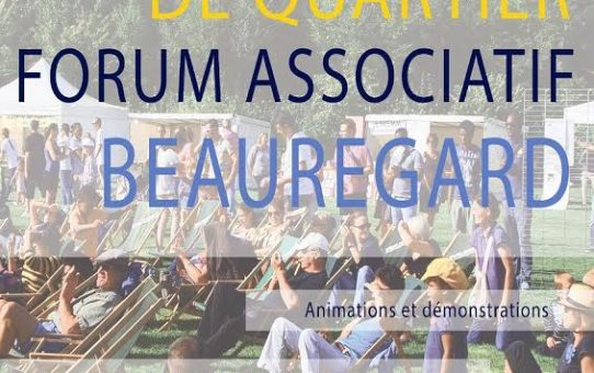 10 septembre 2016 : Fête de quartier et forum associatif de Rennes Beauregard